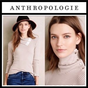 Anthropologie Dolan Snap-Neck Pullover NWT